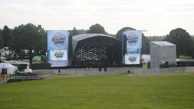 Fusion Festival 2013 - The stage is set