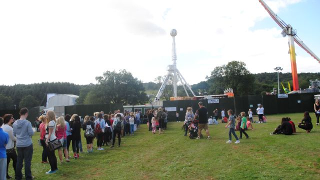 Fusion Festival 2013 - Box office and fairground
