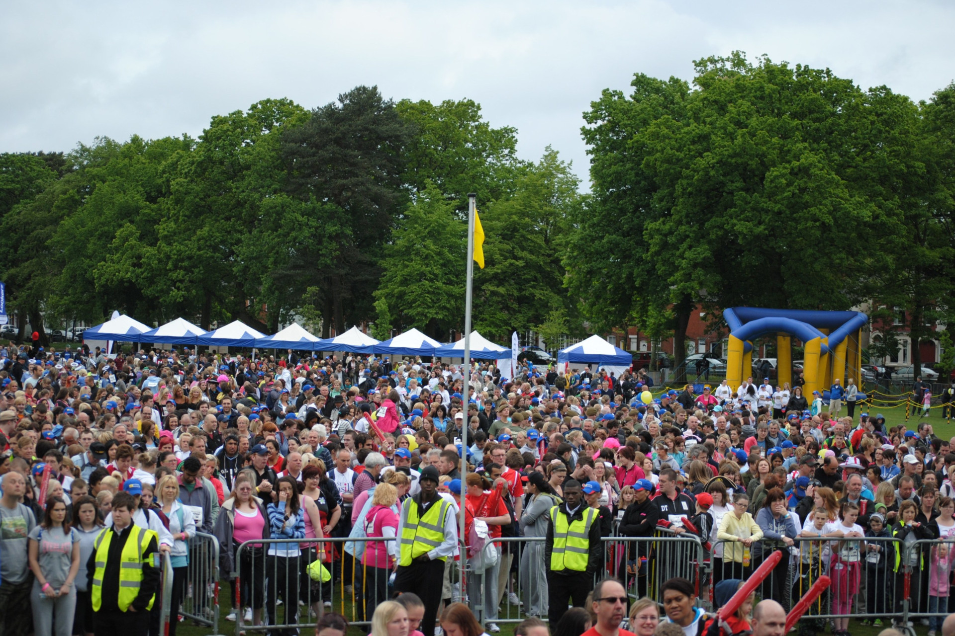 Walkathon 2011 - Crowd