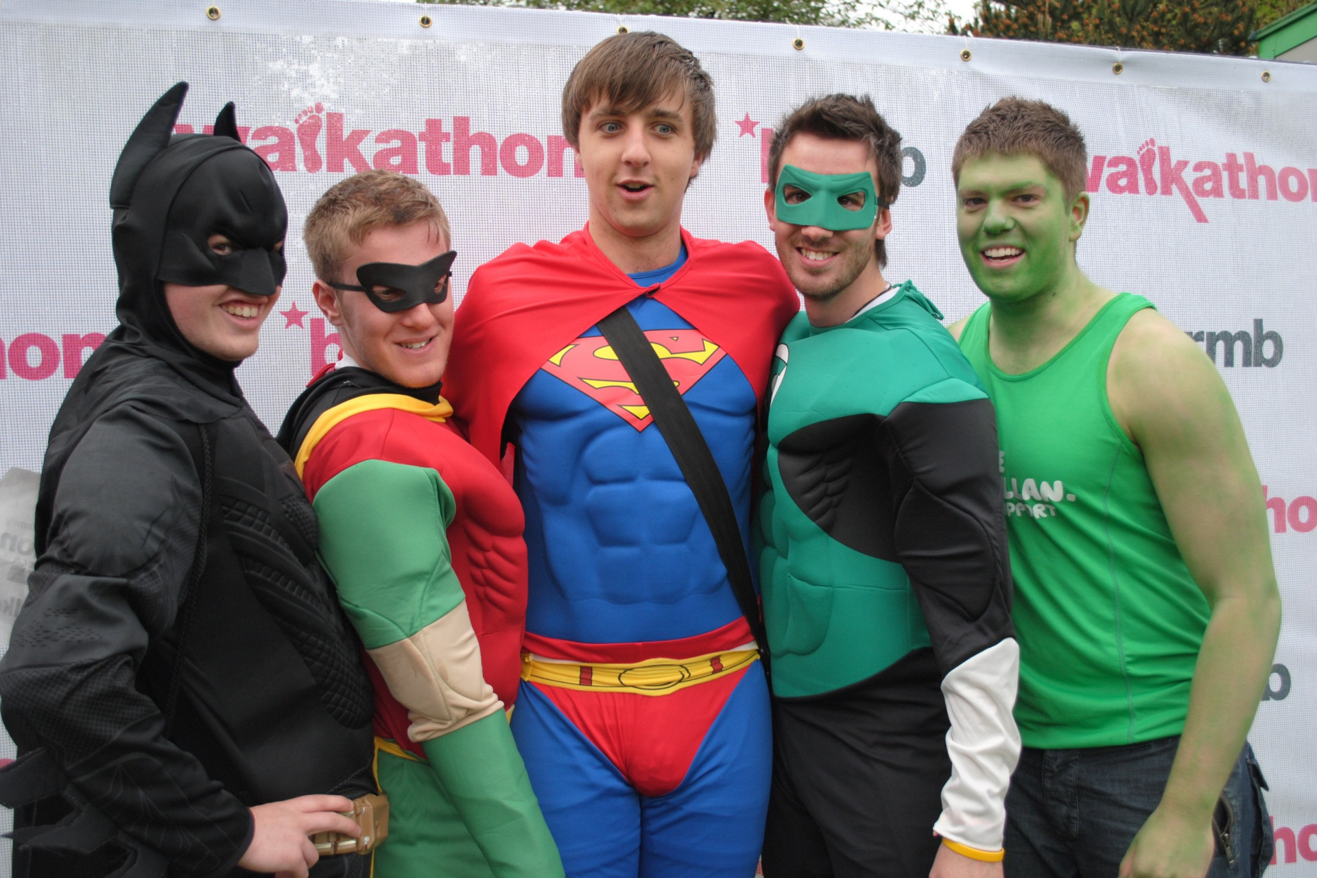 Walkathon 2011 - Superheroes